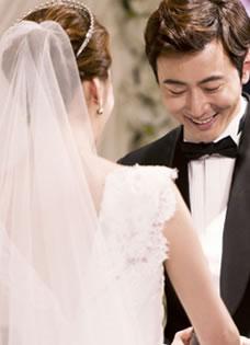 高梓淇蔡琳完婚 梦幻婚礼令人向往