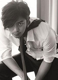 陈柏霖型男写真 帅酷且气场十足