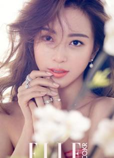韩星韩艺瑟浪漫写真 洋溢初春暖意