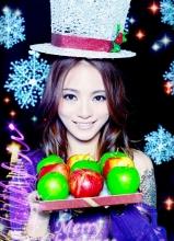 胡灵2012圣诞写真曝光