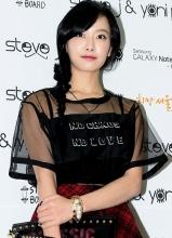 f(x)宋茜亮相春夏首尔时装周 着薄纱裙小秀性感