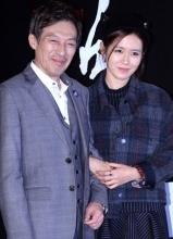 孙艺珍出席新片共犯首尔试映会 娇俏可人