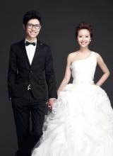 李行亮唯美婚纱照曝光 与女友携手步入婚姻殿堂