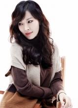 金素妍时尚职业成熟写真