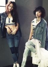 SHINee珉豪携手f(x)拍摄HighCut杂志写真
