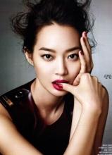 申敏儿Allure杂志美妆写真 尽显魅惑女人味