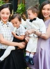霍思燕杜江为儿子庆生 李小璐全家齐祝贺