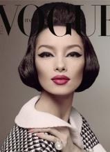 孙菲菲Vogue封面尽显东方韵味