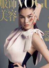 Vogue八周年 中外超模8个完美封面大片