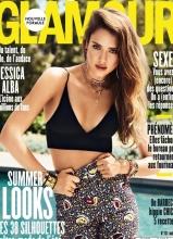 杰西卡·阿尔芭Glamour杂志8月刊写真出炉