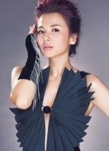 刘涛时尚大片 胸门大开性感少妇