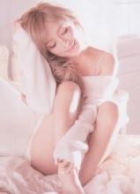 滨崎步白色婚纱写真 画面唯美动人