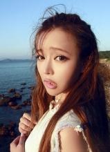 裴紫绮北海道海岸拍写真 90后氧气女生变超萌萝莉