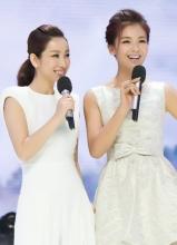 刘涛秦海璐录制天天向上 牵手亮相姐妹情深