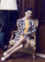 小陶虹时尚杂志写真