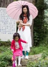 陶虹与女儿徐小宝大理游玩照曝光