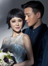 佟大为关悦登新娘杂志4月刊封面