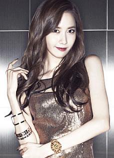 韩团少女时代广告写真 性感礼服展曼妙曲线
