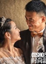 何洁赫子铭时尚新娘大片 全程记录婚礼花絮