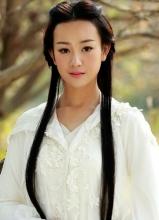 张檬天龙八部剧照 剧中饰演神仙姐姐