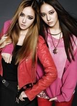 Jessica携Krystal登Bazaar杂志写真