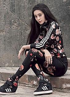 范冰冰陈奕迅携手广告大片 尽显个性时尚