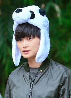 李宇春和熊猫比萌 奇妙的朋友图集