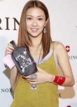 薛凯琪吊带夏装靓丽出席宣传活动