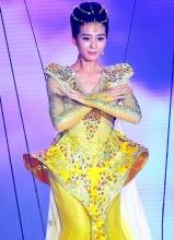 刘诗诗第九届金鹰电视艺术节仙女造型