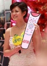 陈妍希香港跨年之行 女神形象入港民心