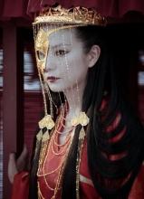 画皮2赵薇刀疤公主剧照 烈焰红唇妖艳动人