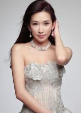 林志玲清新写真 抹胸蕾丝小秀性感