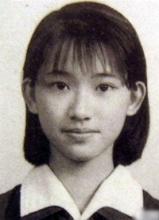 林志玲儿时照 从小就是美人胚子