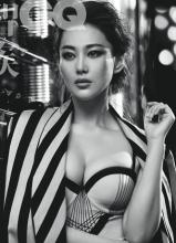 张馨予GQ杂志写真大片