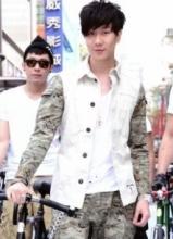 林俊杰台北携型男团骑单车开场