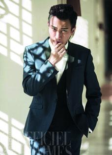 刘恺威西装范优雅演绎绅士品格
