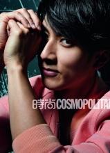 吴尊时尚cosmopolitan杂志写真