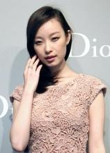 倪妮出席Dior春夏高级订制时装秀