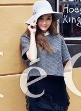 韩星Jessica最新写真 凌乱长发慵懒身姿
