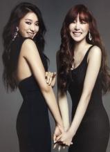 少女时代Tiffany与Sistar宝拉大片 性感时尚