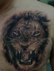 关公纹身图片:手臂关公肖像头像纹身图片纹身作品