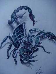 手臂立体的3d图腾纹身