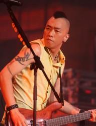 歌手黄家强手臂纹身