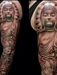 经典大气佛祖纹身