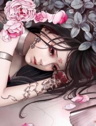 那些美得让人震惊的美女纹身插画