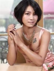 网坛球星李娜胸前性感纹身