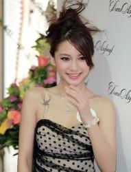 女星Angelababy个性经典纹身