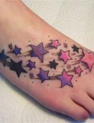 脚背纹身又一性感的纹身