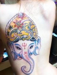 台湾狮王获奖顶级蜥蜴刺青纹身图片