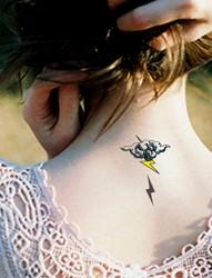 时尚简单的云图腾纹身